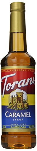 Torani Syrup, Caramel, 25.4 Ounce (Pack Of 4)