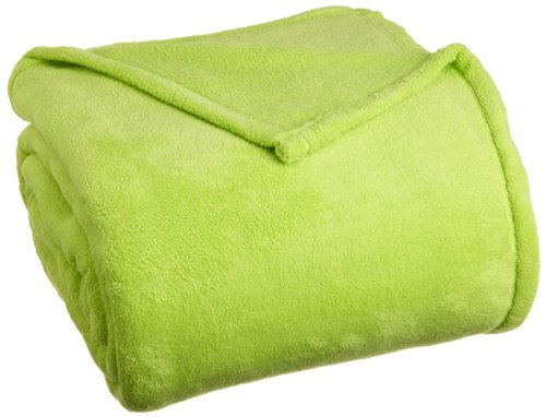 Creative Super Soft Diamond Fleece Blanket F/Q - Lime