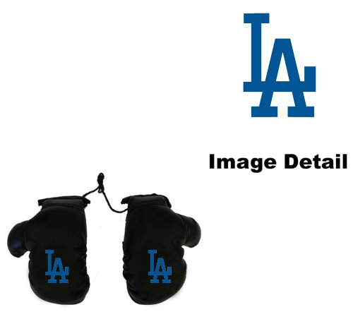 Los Angeles Dodgers Car Truck SUV Rearview Mirror Mini Small Boxing Gloves at Amazon.com