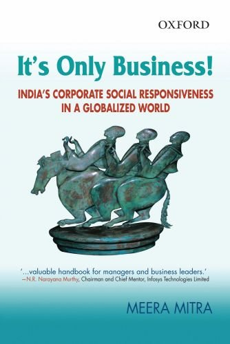 It's only Business: India's Corporate Social Responsiveness in a Globalized World