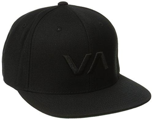 rvca-snapback-del-sombrero-va-ii-hombres-o-s-black-black