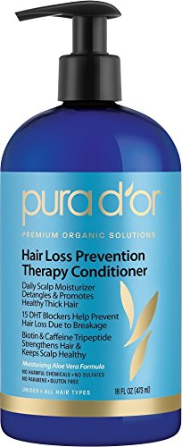 PURA D'OR Hair Loss Prevention Therapy Conditioner, 16 Fluid Ounce (Caffeine Extract Hair compare prices)