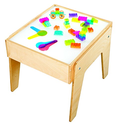 Childcraft 1335357 Mini Light Table, Wood and Plastic,