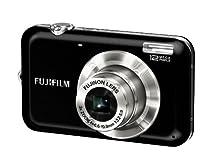 Fujifilm Finepix JV100 Digitalkamera (12 Megapixel, 3-fach opt.Zoom, 6,9 cm Display) schwarz