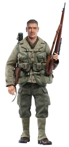 """Dragon Models 1/6 """"Danny"""" (Private 1st Class) - U.S. Army Sniper, 2nd Ranger Battalion, France 1944 (Life-Like Sculpts) Cyber Hobby"""