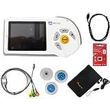 ChoiceMed MD100E Couleur Portable Handheld ECG ECG cardiofréquencemètre Deluxe Set