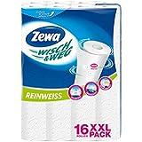 Zewa Wisch & Weg Lot de 16 rouleaux de papier essuie-tout Blanc pur