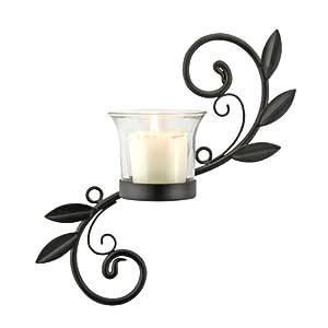Briarwood Single Votive Leaf Wall Sconce Candle Holder