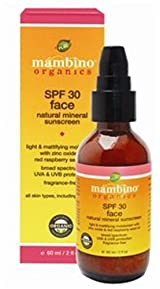 Mambino SPF 30 Natural Mineral Sunscreen for Face