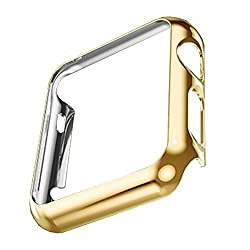Apple Watch PC Plated Case (PC Case Gold 42mm)