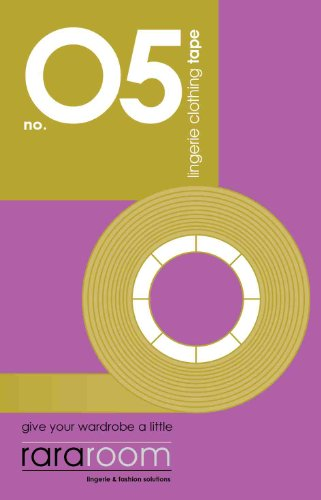rararoom No.05 double-sided Lingerie & Fashion Tape