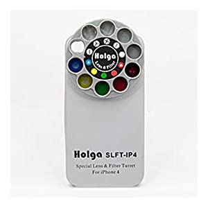 Holga 400120 Lens Case for iPhone 4/4s - Silver