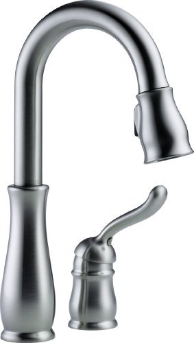 Big Save! Delta Faucet 9978-AR-DST Leland Single Handle Bar/Prep Faucet, Arctic Stainless