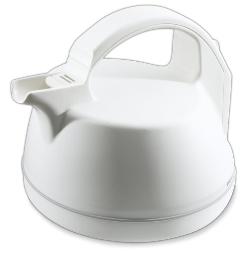 Black & Decker KE2020 2.0 Liter Dome Kettle, White (Black And White Kettle compare prices)