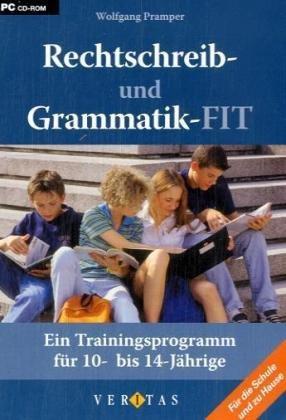 rechtschreib und grammatik fit ein trainingsprogramm f r. Black Bedroom Furniture Sets. Home Design Ideas