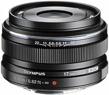 Comprar Olympus M.Zuiko digital - Objetivo para Micro Cuatro Tercios (distancia focal fija 17mm, apertura f/1.8-22) color negro