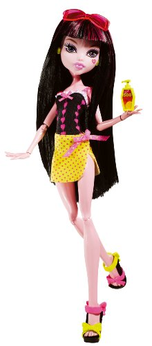 Monster High Gloom Beach Draculaura Doll - 1