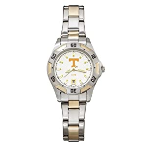 NCAA Tennessee Volunteers Ladies All-Pro Two-Tone Watch by Logo Art