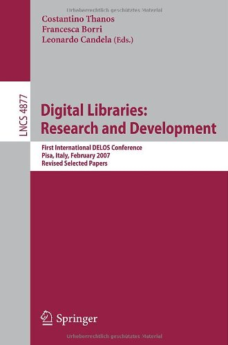 Digital Libraries.. Research and Development