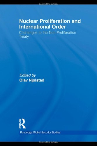 Nuclear Proliferation and International Order: Challenges to the Non-Proliferation Treaty (Routledge Global Security Studies)