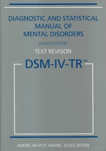 diagnostic-and-statistical-manual-of-mental-disorders-dsm-iv-tr-fourth-edition-text-revision-paperba