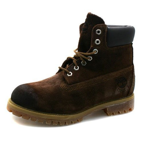 chocolate brown timberland boots