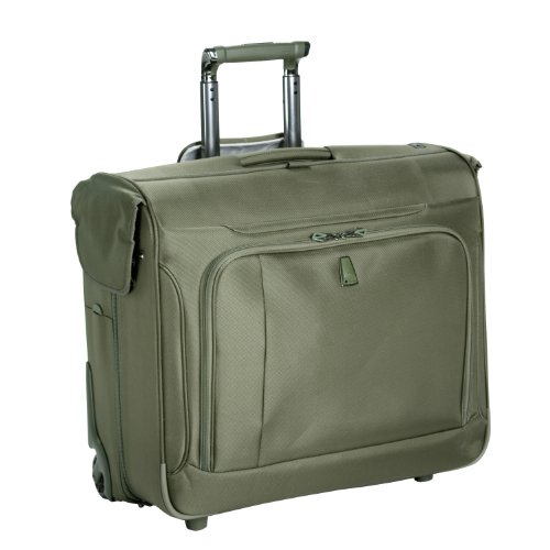 Delsey Luggage Helium Breeze 3.0 Lightweight 2 Wheel Rolling Garment Bag, Green, 45 Inch