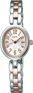 [アルバ]ALBA 腕時計 ingenu アンジェーヌ カーブ無機ガラス 日常生活用防水 AHJK401 レディース