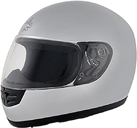 ROADSTAR integral casque mini argenté