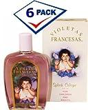 Violeta Francesa Splash Children and Adult Cologne5 oz each. Pack of 6