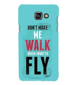 Vizagbeats Walk and Fly Back Case Cover for SAMSUNG A5 2016