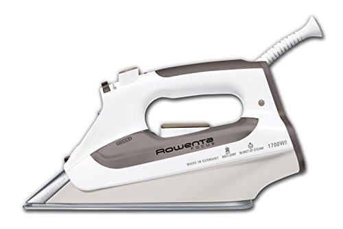 Rowenta DZ5160 Focus Auto Shut off Stainless Steel Soleplate Steam Iron, 1700-Watt, Brown
