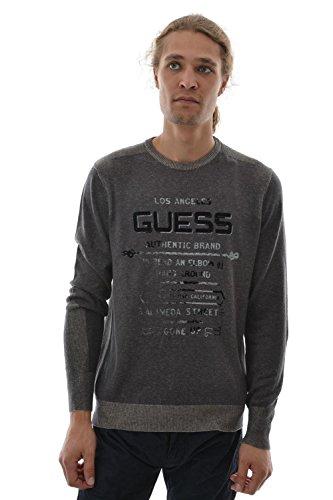 Guess -  Maglione  - Uomo grigio X-Large