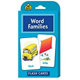 Word Families Flash Cards by School Zone Publishing Company Staff