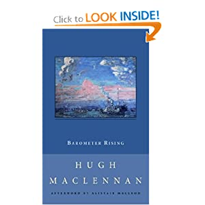 Amazon.com: Barometer Rising (New Canadian Library) (9780771099915 ...