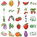 Fruits and Vegetables Embroidery Design Memory Card by  Simplicity
