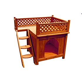 Free Dog House Plans - Build a Dog House - Free Woodworking Plans