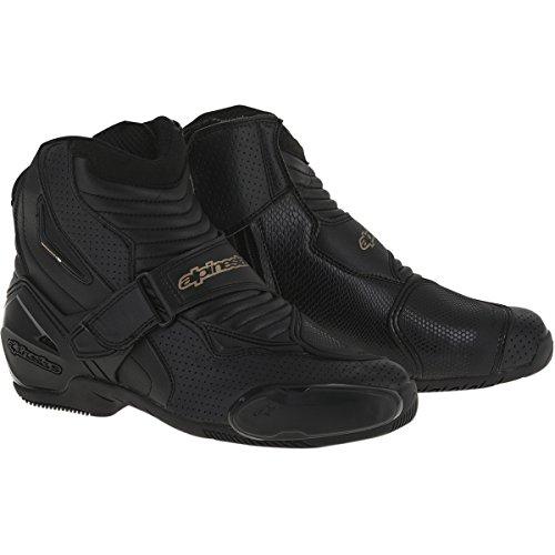 Alpinestars SMX-1R Vented Women's Street Motorcycle Boots - Black/Gold / 39 (Street Motor Cycle Boots compare prices)