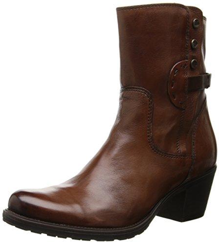 Clarks Women's Maymie Skye Chelsea Boot,Cognac Leather,8.5 M US