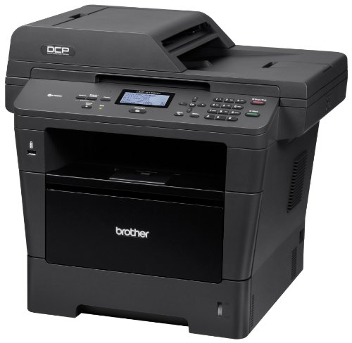 Brother Printer DCP8155DN Wireless Monochrome Printer with Scanner and Copier