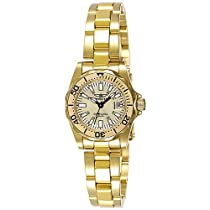 Hot Sale Invicta Women's 7065 Signature Collection Pro Diver Gold-Tone Watch