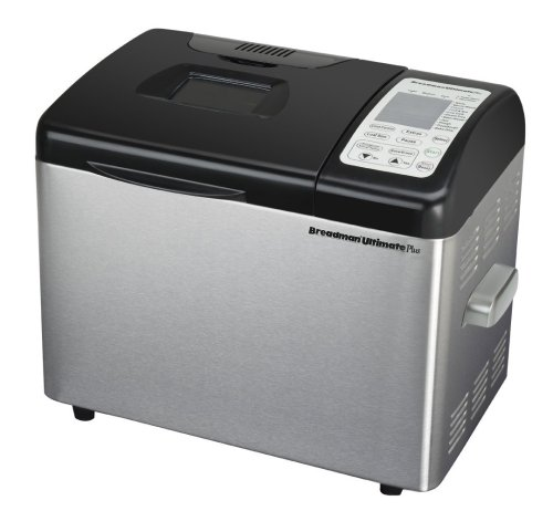 Breadman TR2500BC Ultimate Plus 2-Pound Stainless-Steel Convection Breadmaker