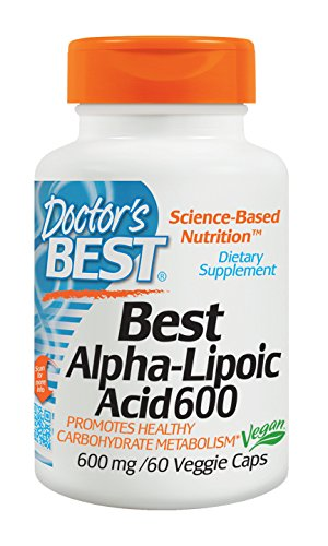 Doctors Best Alpha-Liponsäure, 600 mg, 1er Pack (1 x 60...