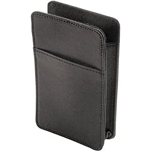 Navitech leather GPS satellite navigation carry case sleeve pouch for the Garmin Nuvi 50 & 50LM
