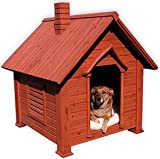 Cedar Chalet Dog House : Size MEDIUM