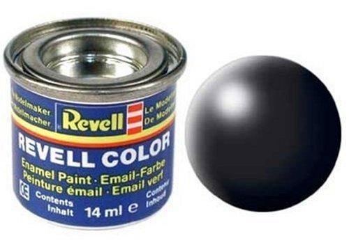 Peinture émail Revell noir satiné
