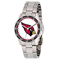 Arizona Cardinals NFL Mens Coach Series Stainless Steel Watch