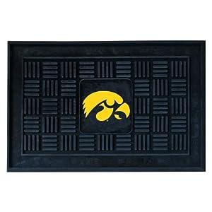 Buy FANMATS NCAA University of Iowa Hawkeyes Vinyl Door Mat by Fanmats