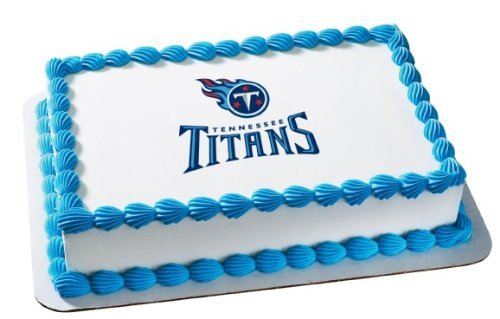NFL Tennessee Titans ~ Edible Cake Image Topper