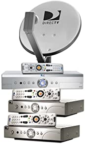 3 Room DIRECTV System with a DIRECTV Plus DVR (Lease)